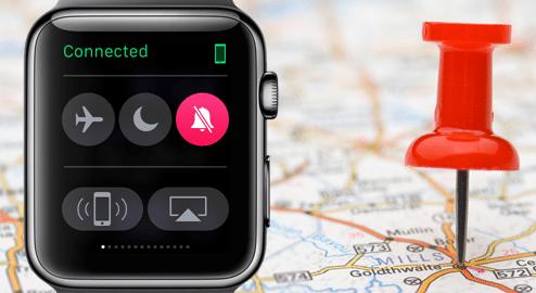 یافتن آیفون توسط ساعت اپل یا iCloud