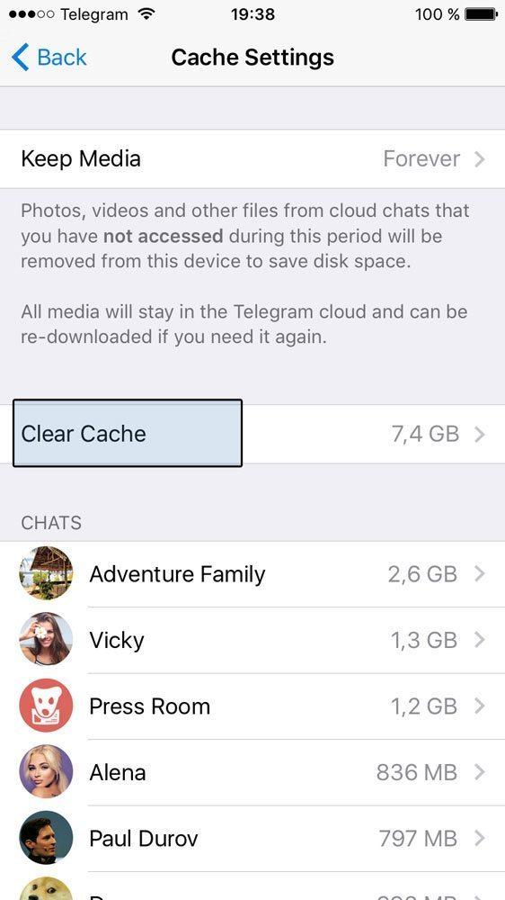 افزایش سرعت تلگرام و حل مشکل دانلود نشدن تصاویر و فیلم