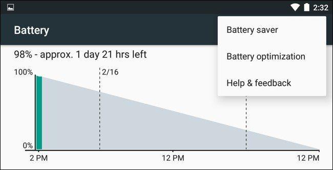 حالت ذخیره باتری در اندروید چه کاری انجام میدهد؟