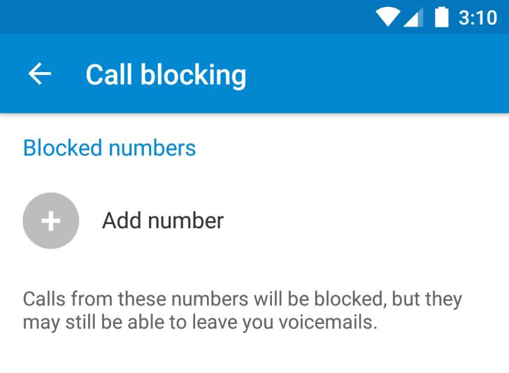 مسدود کردن شمارهها در سطح سیستم