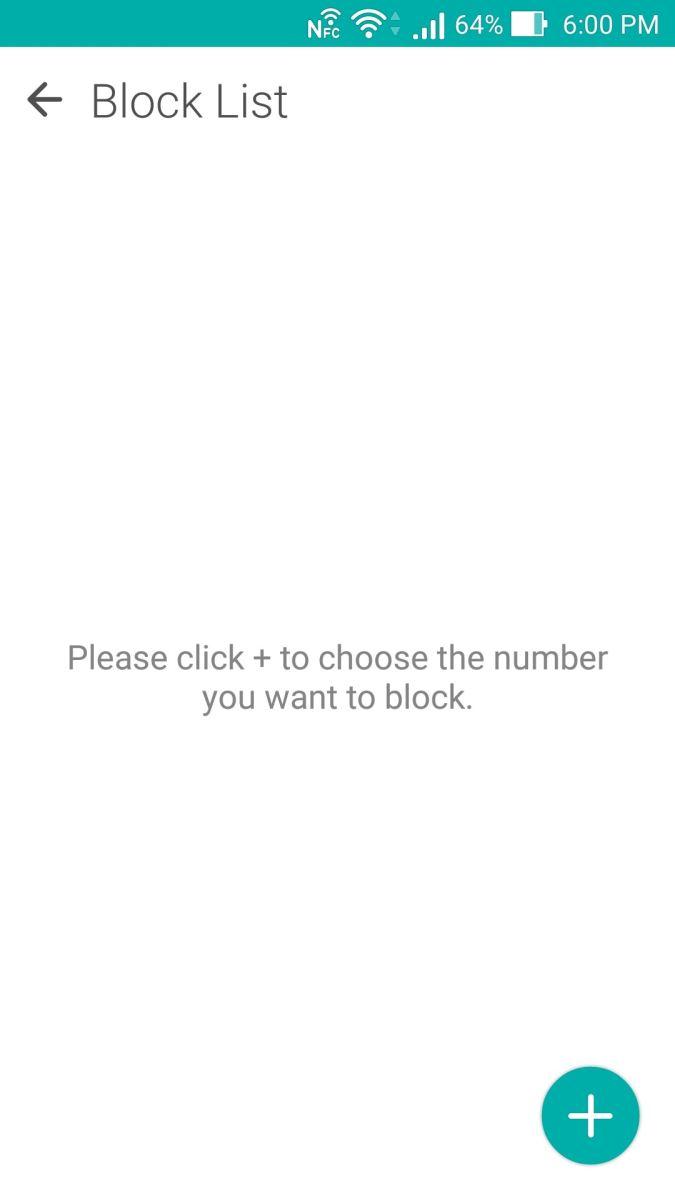 بلاک کردن تماس ها در تلفن های Asus