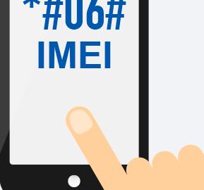 یافتن شماره سریال گوشی imei code