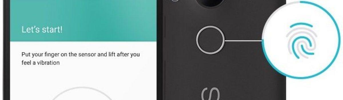آموزش راه اندازی حسگر اثر انگشت Nexus 5X و Nexus 6P