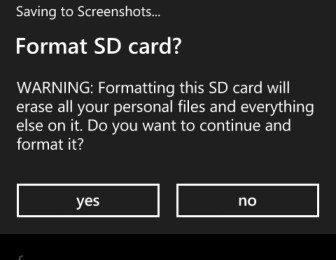 فرمت کردن کارت حافظه microSD