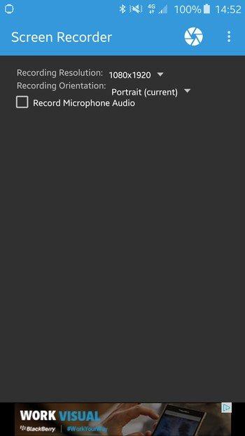 اسکرین شات اندروید android screenshot