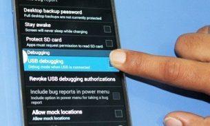 فعال کردن USB Debugging در گوشیهای اندروید