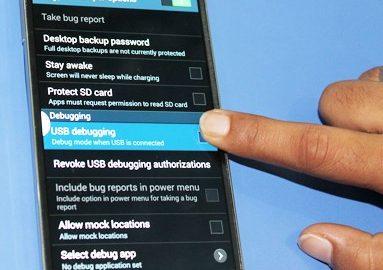 فعال کردن USB Debugging