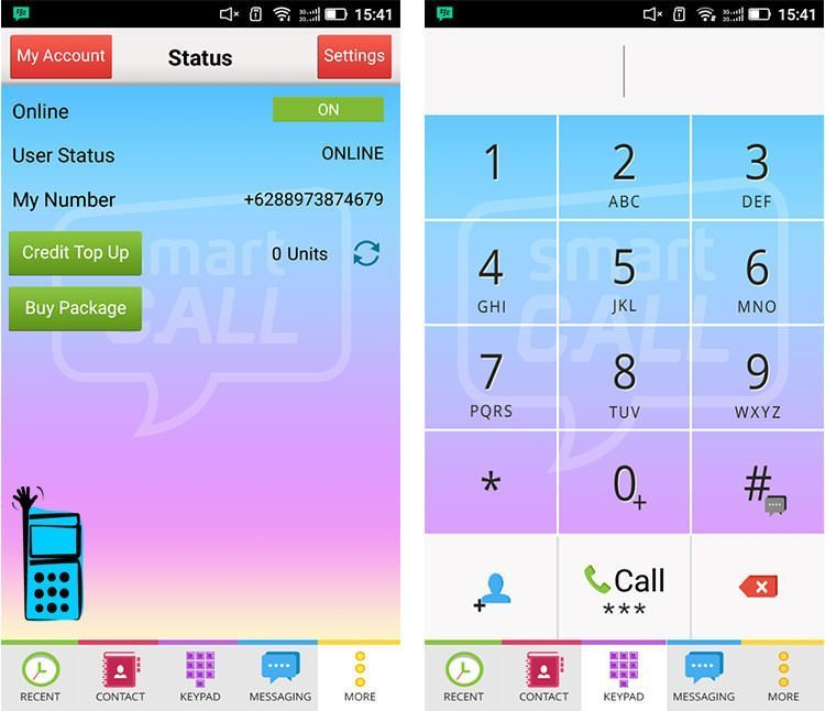 آموزش ساخت شماره مجازی در Smart call
