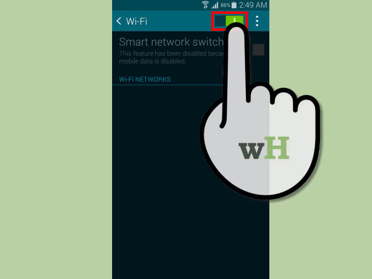 فعالسازی اینترنت وایفای و هاتاسپات wifi hotspot