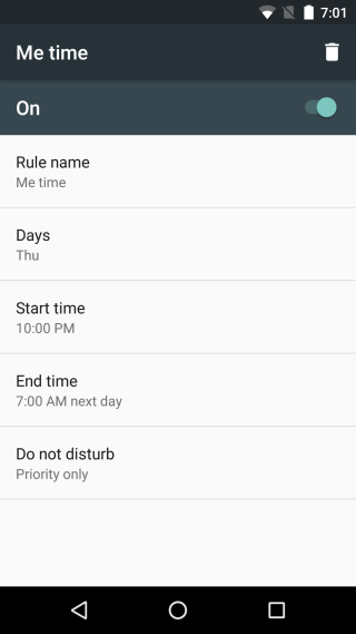 لطفا مزاحم نشوید android dnd