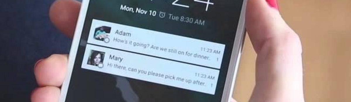 چگونه در اندروید ۶ پیغامی در صفحه قفل قرار دهیم
