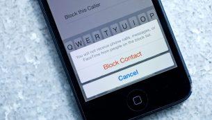 آموزش بلاک کردن یک شماره در آیفون