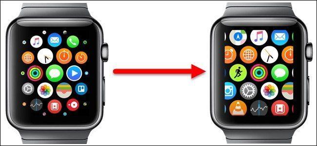 شخصیسازی صفحه خانگی ساعت اپل Apple watch customization