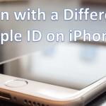 حذف apple id از گوشی آیفون