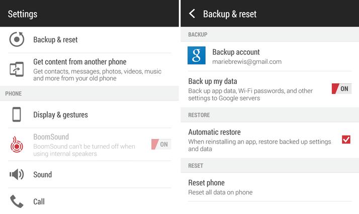 بکاپگیری رایگان از اندروید android free backup