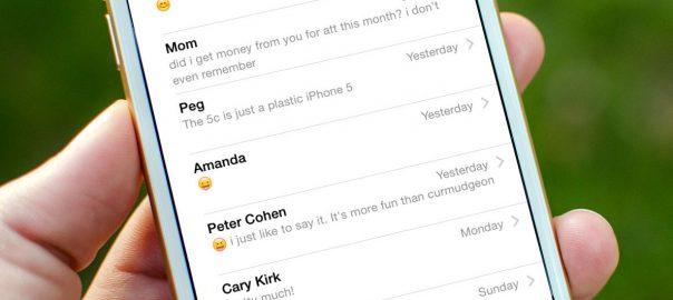 پیامکهای حذف شده در آیفون recover deleted sms