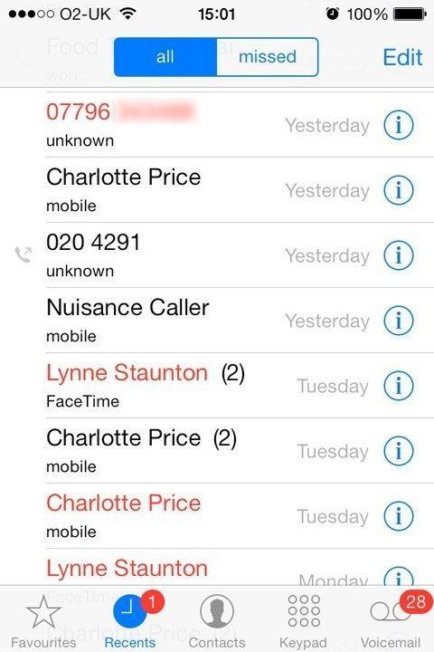 بلاک کردن شمارهها در آیفون iphone block number