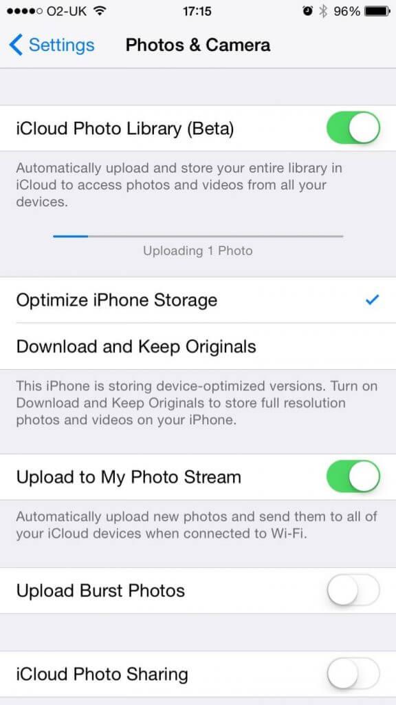 کمبود حافظه آیفون iphone save storage
