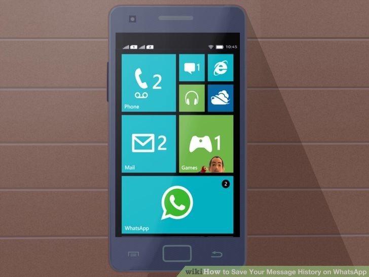 ذخیره مکالمات و چتها در واتساپ save whatsapp messages