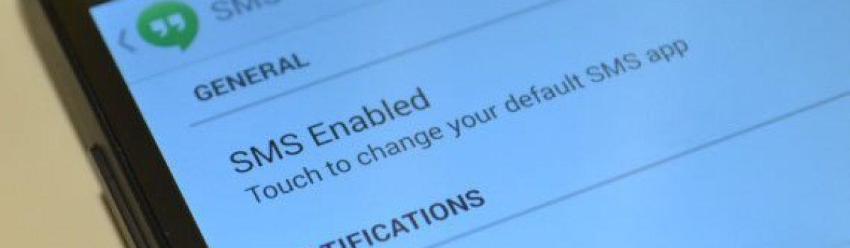 آموزش انتقال SMS از اندروید به اندروید دیگر