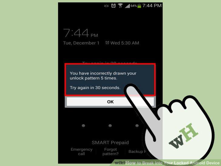 قفلگشایی گوشی اندروید unlock android phone