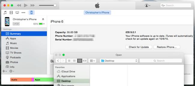 آموزش دانگرید سیستم عامل آی او اس iOS downgrade