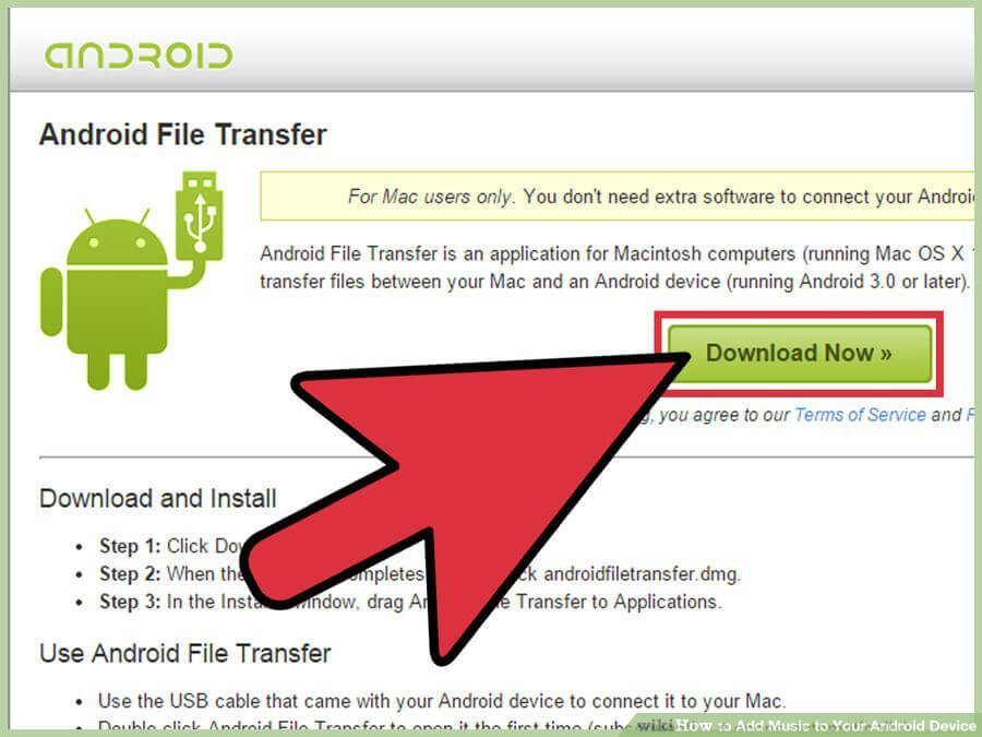 انتقال فایل موزیک به دستگاههای اندرویدی transfer music to android