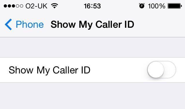 تماس با شمارهی بلاک شده در آیفون call blocked iphone caller ID