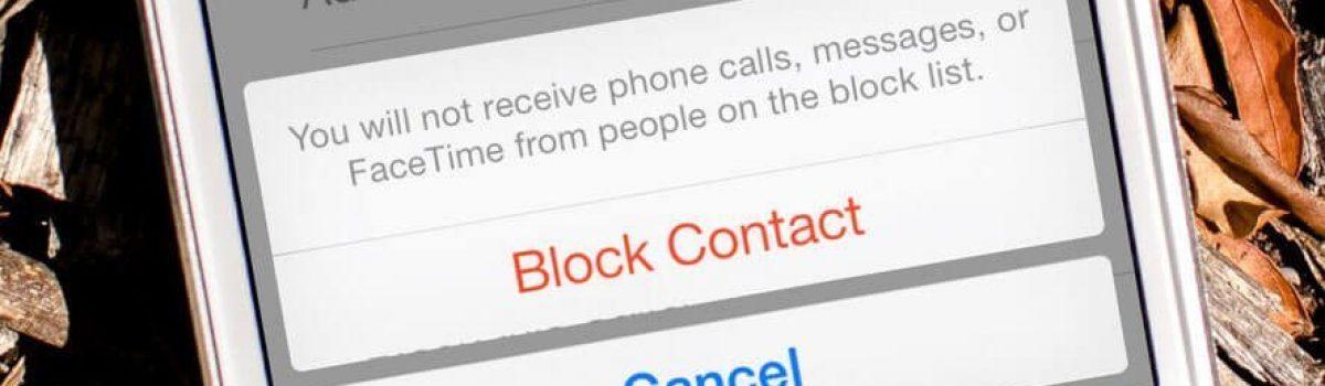 تماس با آیفونی که در آن بلاک هستیم توسط no caller ID