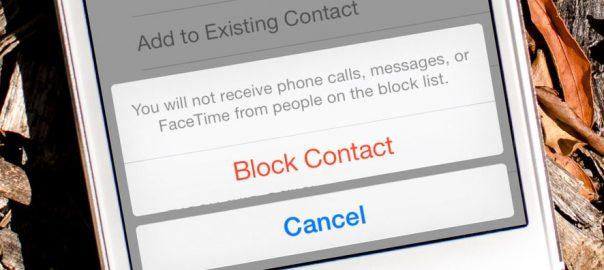 تماس با شمارهی بلاک شده در آیفون call blocked iphone