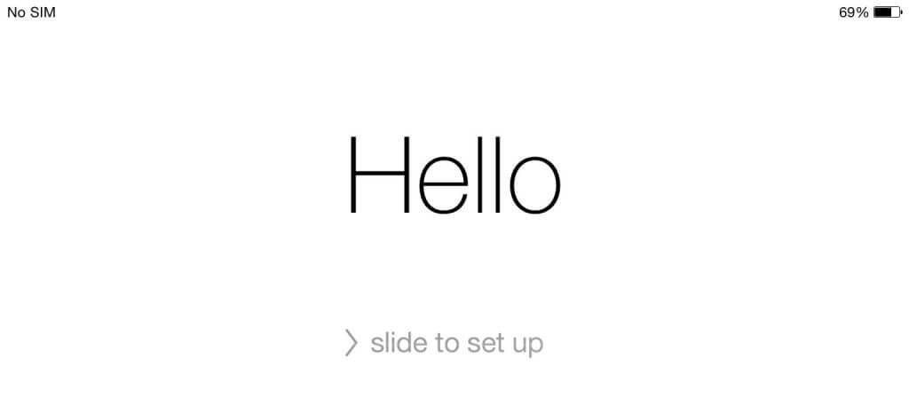 راهاندازی اولیه آیفون iphone setup