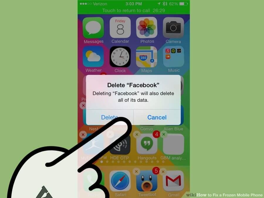 رفع مشکل فریز شدن ناگهانی آیفونها solve iphone freeze