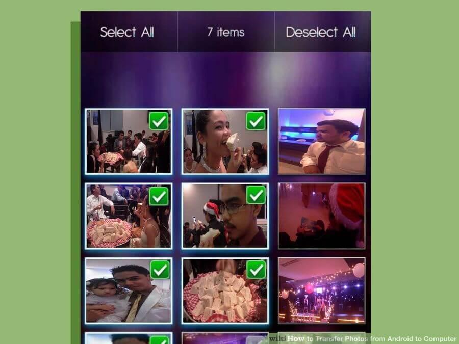 انتقال فایلهای تصویری از دستگاههای اندرویدی transfer android photos