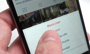 آموزش بلاک کردن در اینستاگرام و تشخیص اصالت اکانت سلبریتیها