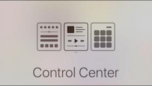 آموزش استفاده از کنترل سنتر آیفون در آی او اس ۱۰