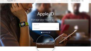در صورت فراموش کردن اپل آیدی چه کنیم؟