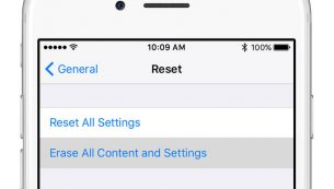 حذف اطلاعات آیفون و آیپد و اپل واچ ؛ Erase iPhone, iPad