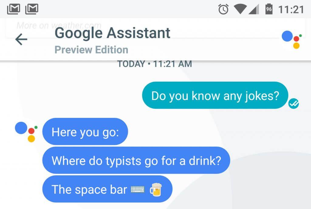 قابلیت های دستیار گوگل