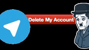آموزش حذف اکانت تلگرام | دیلیت کردن حساب telegram