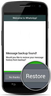 آموزش انتقال مکالمات اپلیکیشن واتسآپ از دستگاه اندرویدی به آیفون و بالعکس