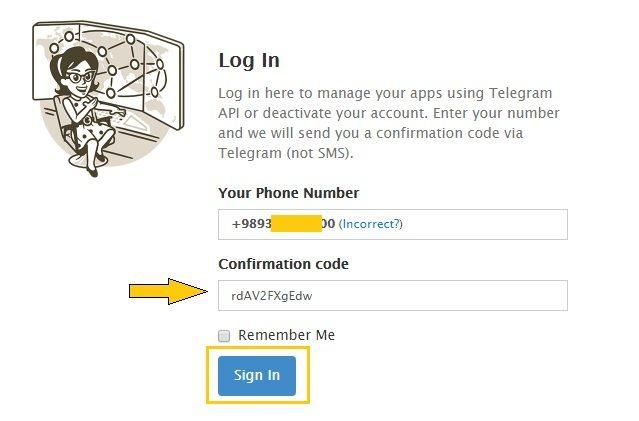 آموزش ديليت اكانت تلگرام