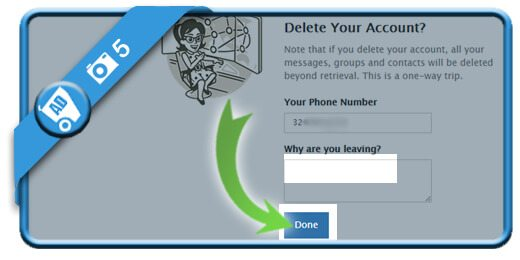 how to delete telegram account from mobile