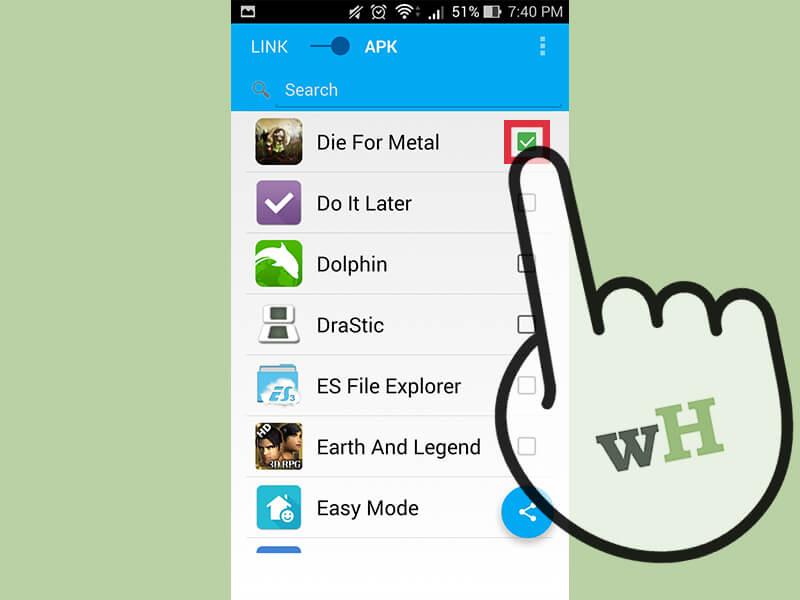 آموزش رد و بدل اپلیکیشنهای اندروید share android application