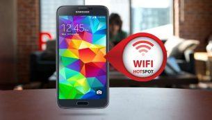 آموزش تبدیل گوشی به مودم وای فای از طریق Hotspot