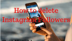 آموزش تصویری نحوه حذف فالوورها در اینستاگرام