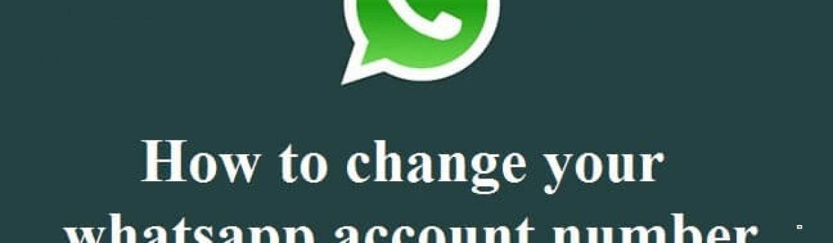 آموزش تغییر شماره واتساپ بدون از دست رفتن اطلاعات قبلی