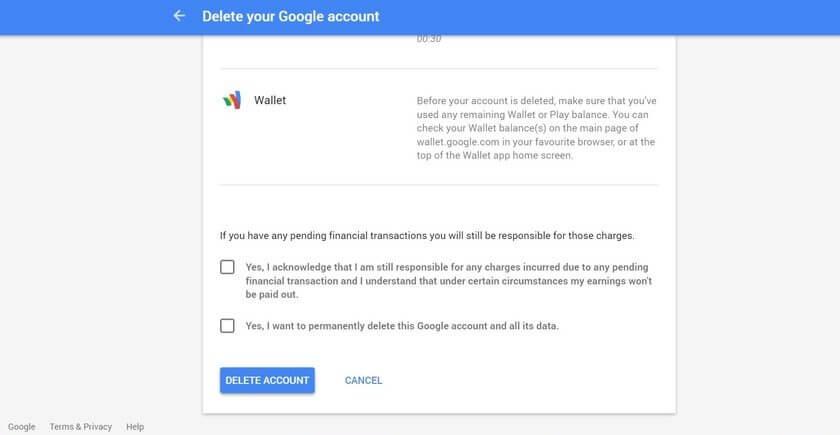 برگرداندن اکانت گوگل پلاس