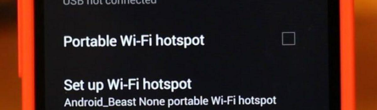 چگونگی اشتراکگذاری اینترنت دستگاه اندرویدی از طریق بلوتوث