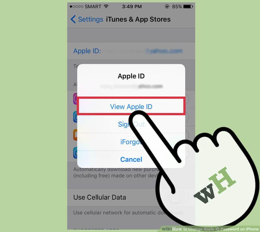 آموزش تغییر رمز اپل آیدی (Apple ID)