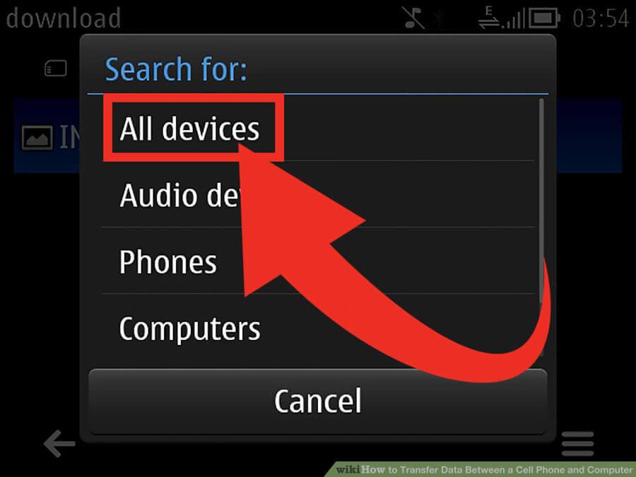 روشهای انتقال فایل مابین گوشی و کامپیوتر transfer files between phone and pc